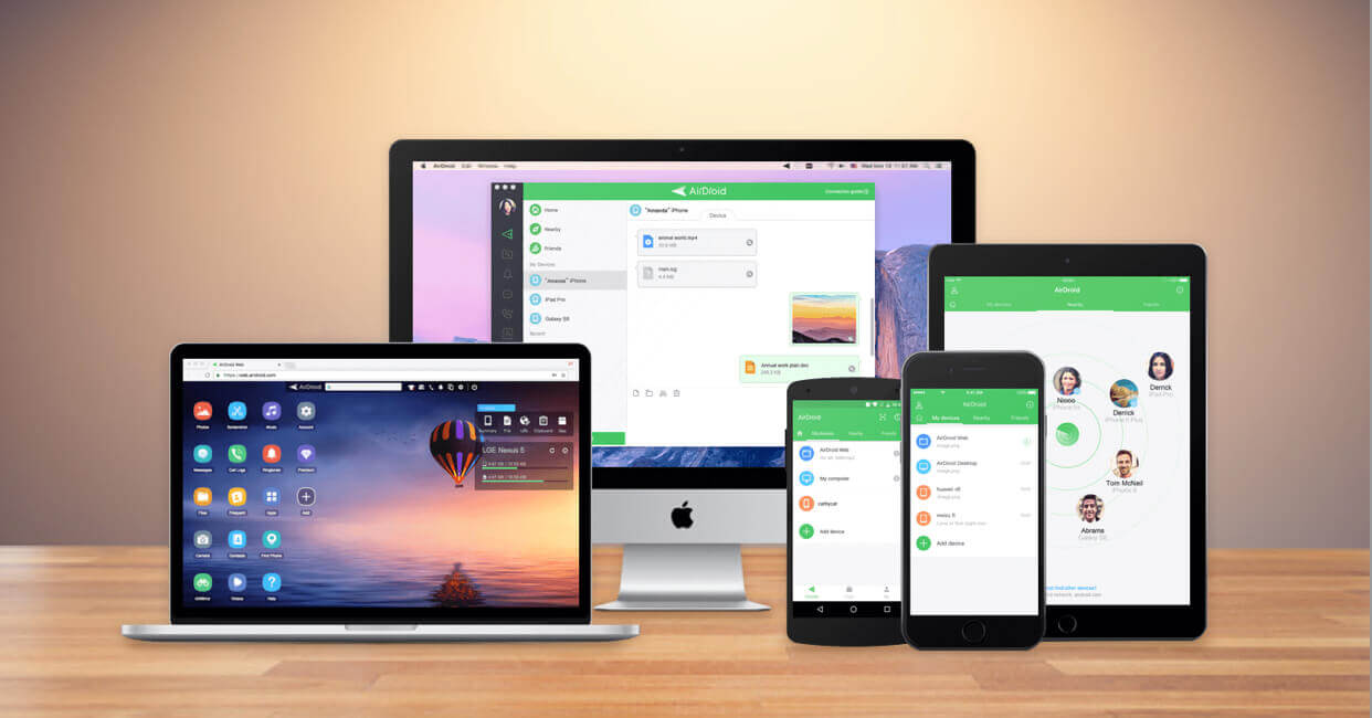 Home | AirDroid
